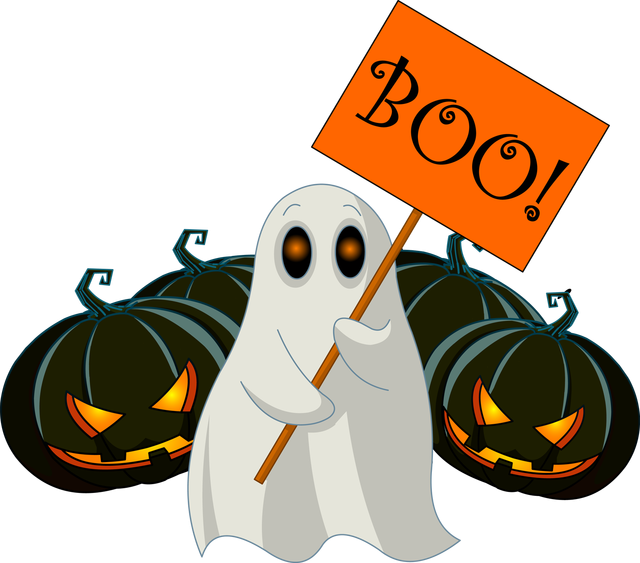 Boo Off Stage Clip Art.