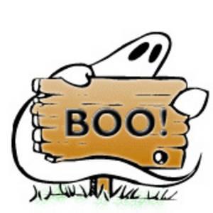 Ghost boo clip art.