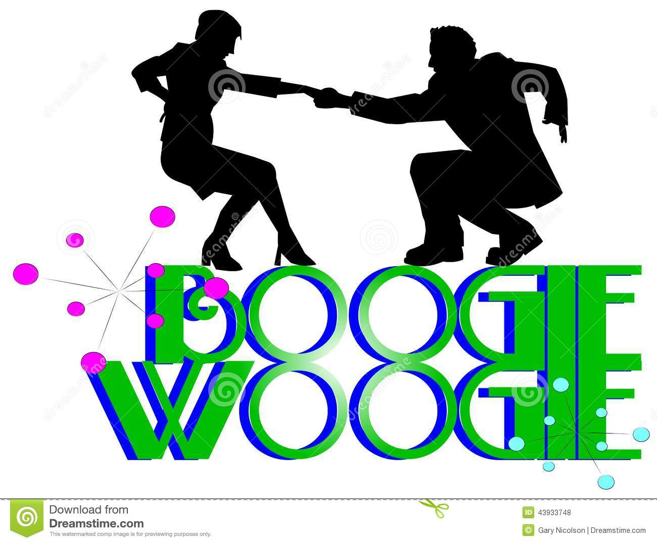 Boogie Stock Illustrations.