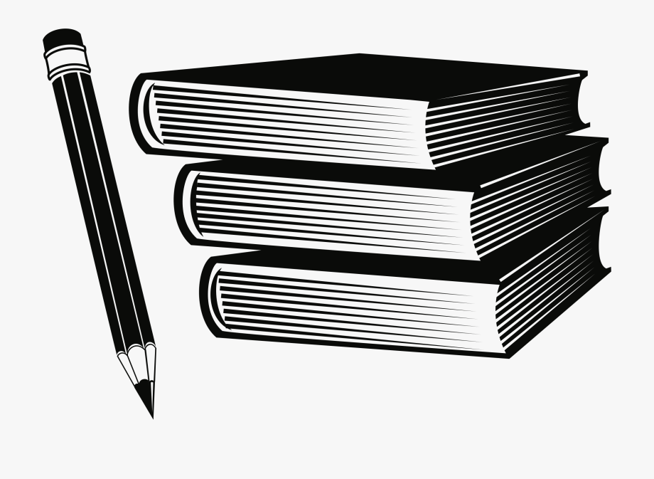 Clipart Freeuse Library Pencil And Book Clipart.