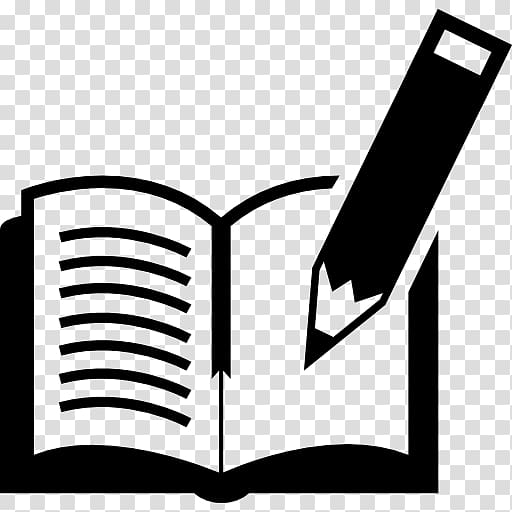 Book Pencil , a black pen transparent background PNG clipart.