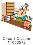 Book signing clip art.