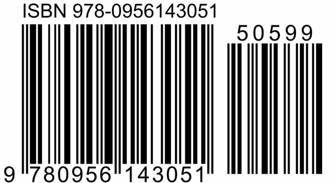 carolchems : I will create an isbn barcode graphic for your book for $5 on  www.fiverr.com.