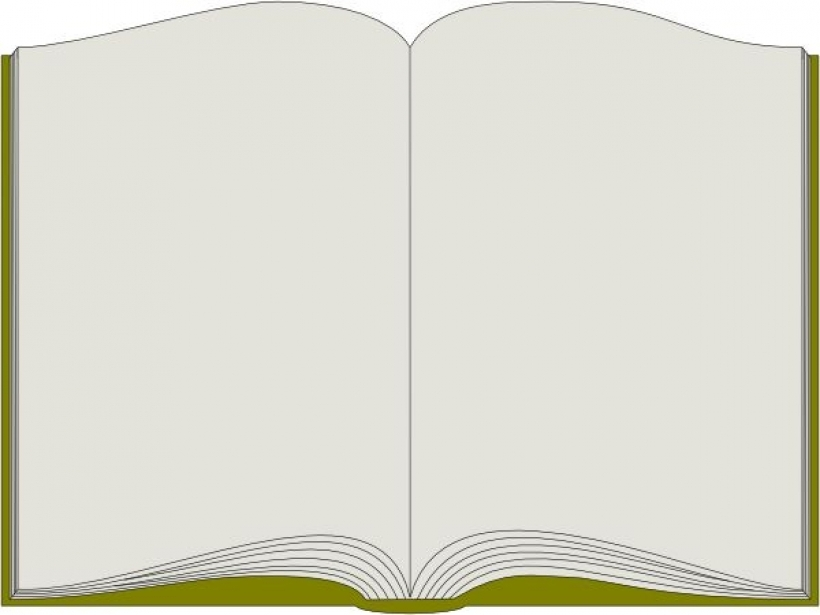 Open book book border clip art open vector for.