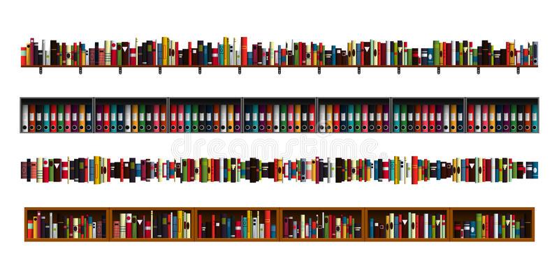 Book Borders Stock Illustrations.