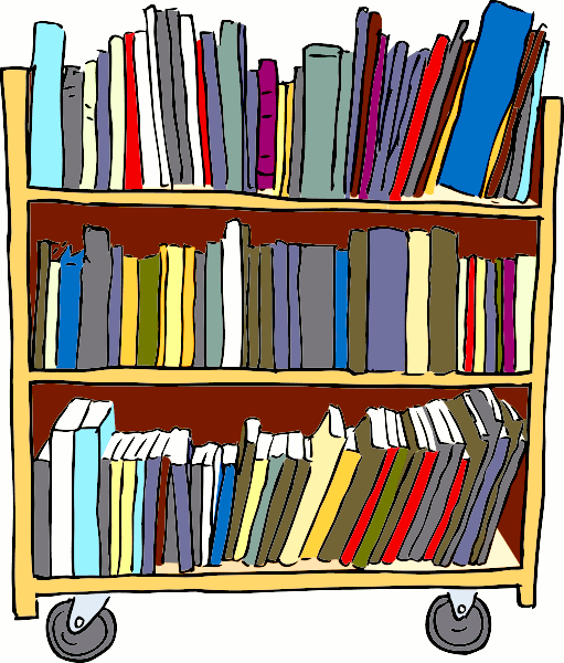 Book Cart PNG Transparent Book Cart.PNG Images..