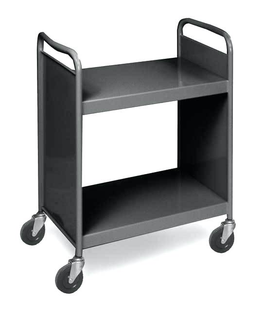 library cart.