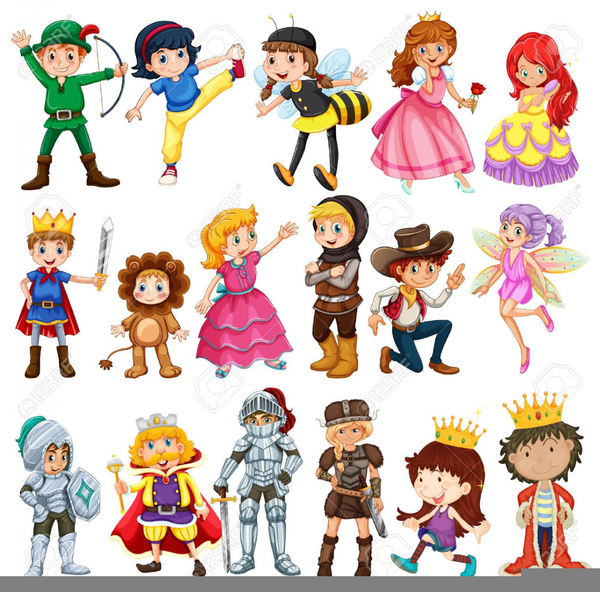 Story Book Character Clipart.