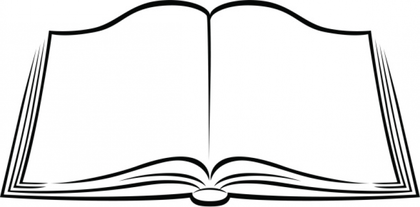 Clip Art Of A Book.
