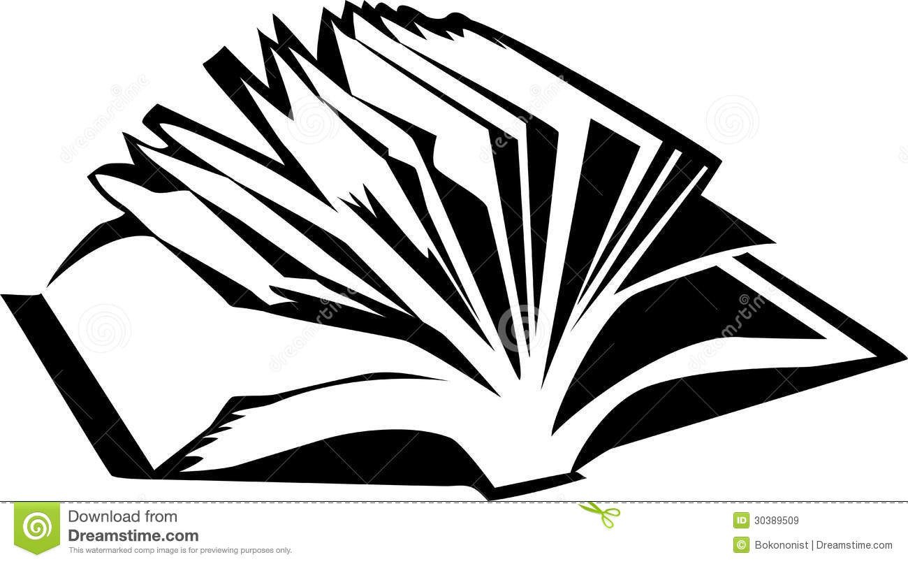 Stack Of Books Clip Art Black And White.