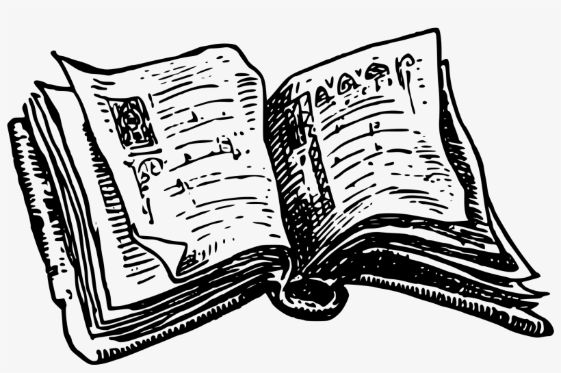 28 Collection Of Books Drawing Png.