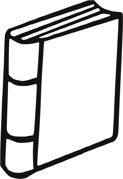 Download Open Book Clipart Black And White.