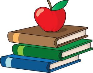 Clipart School Books.