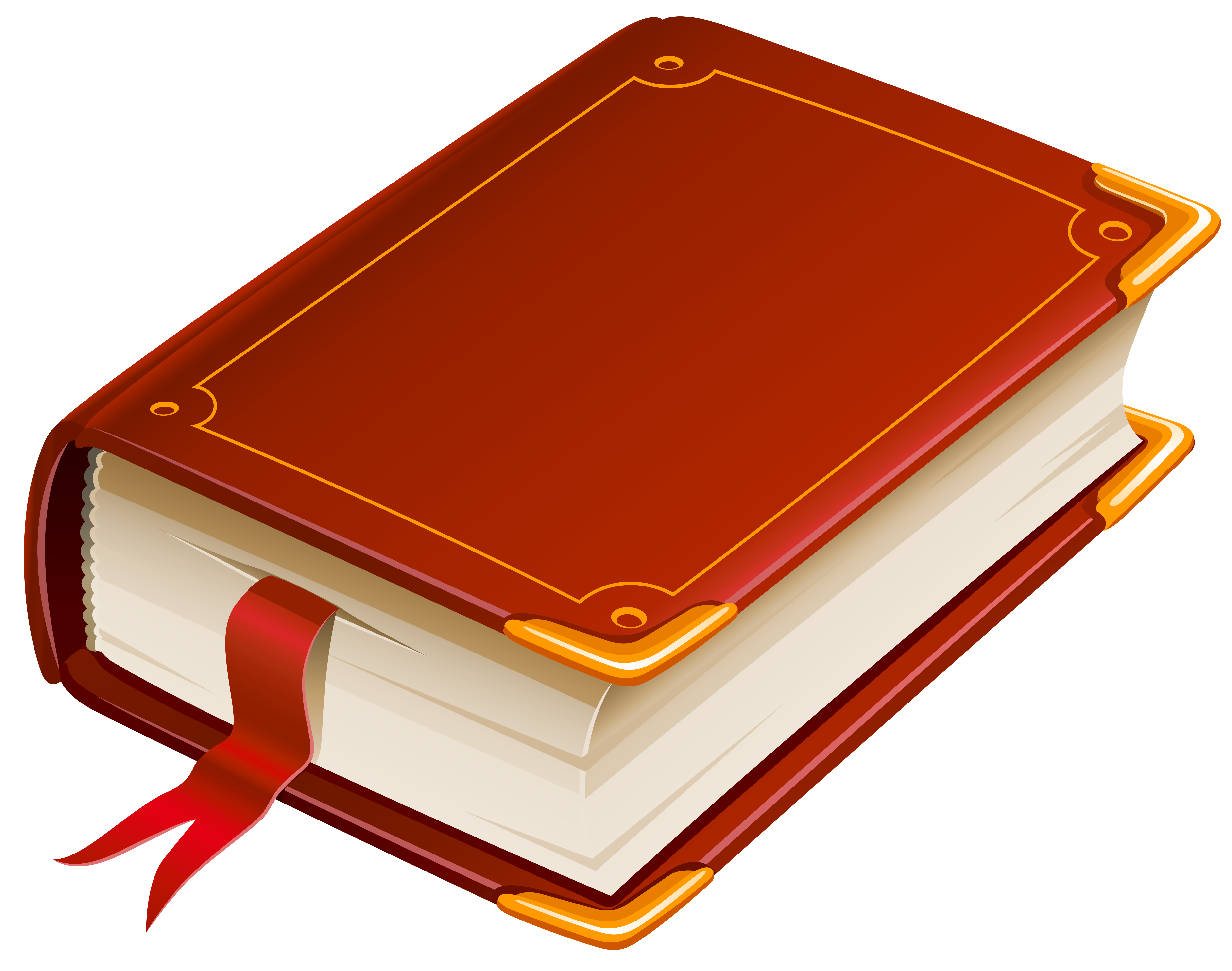 Red Book PNG Clipart.