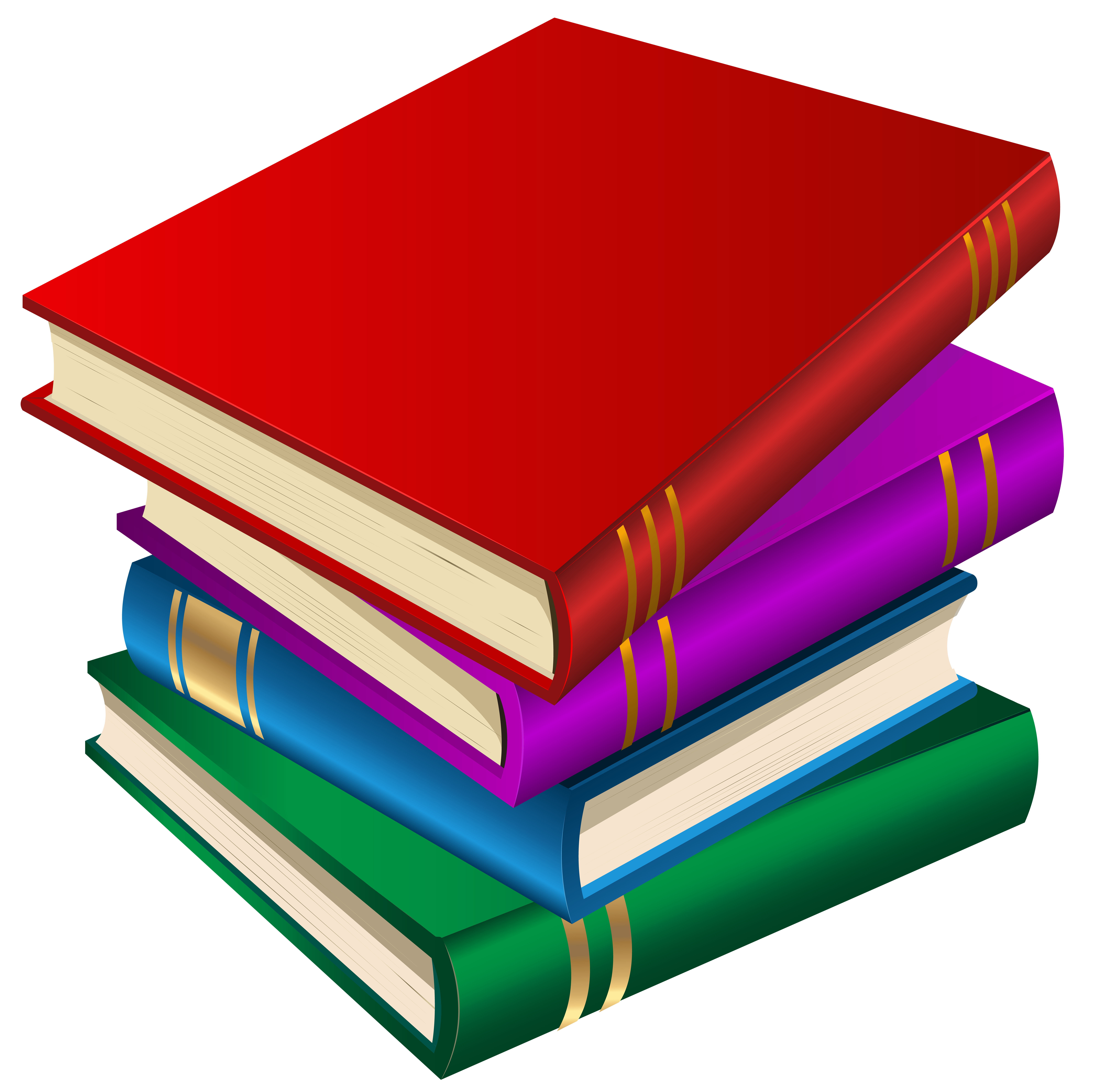 Books PNG Clipart Image.