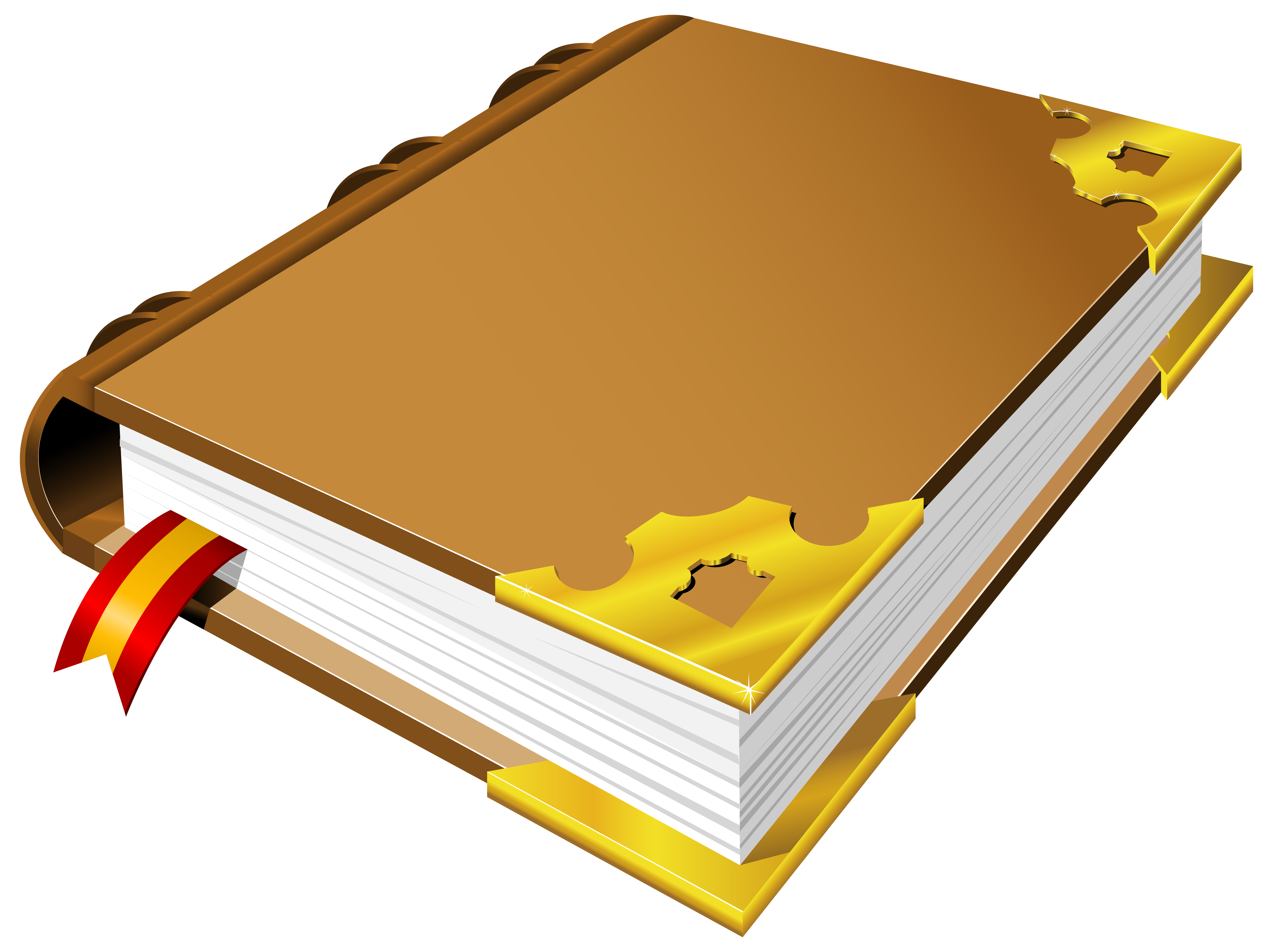 Brown Book PNG Clipart.