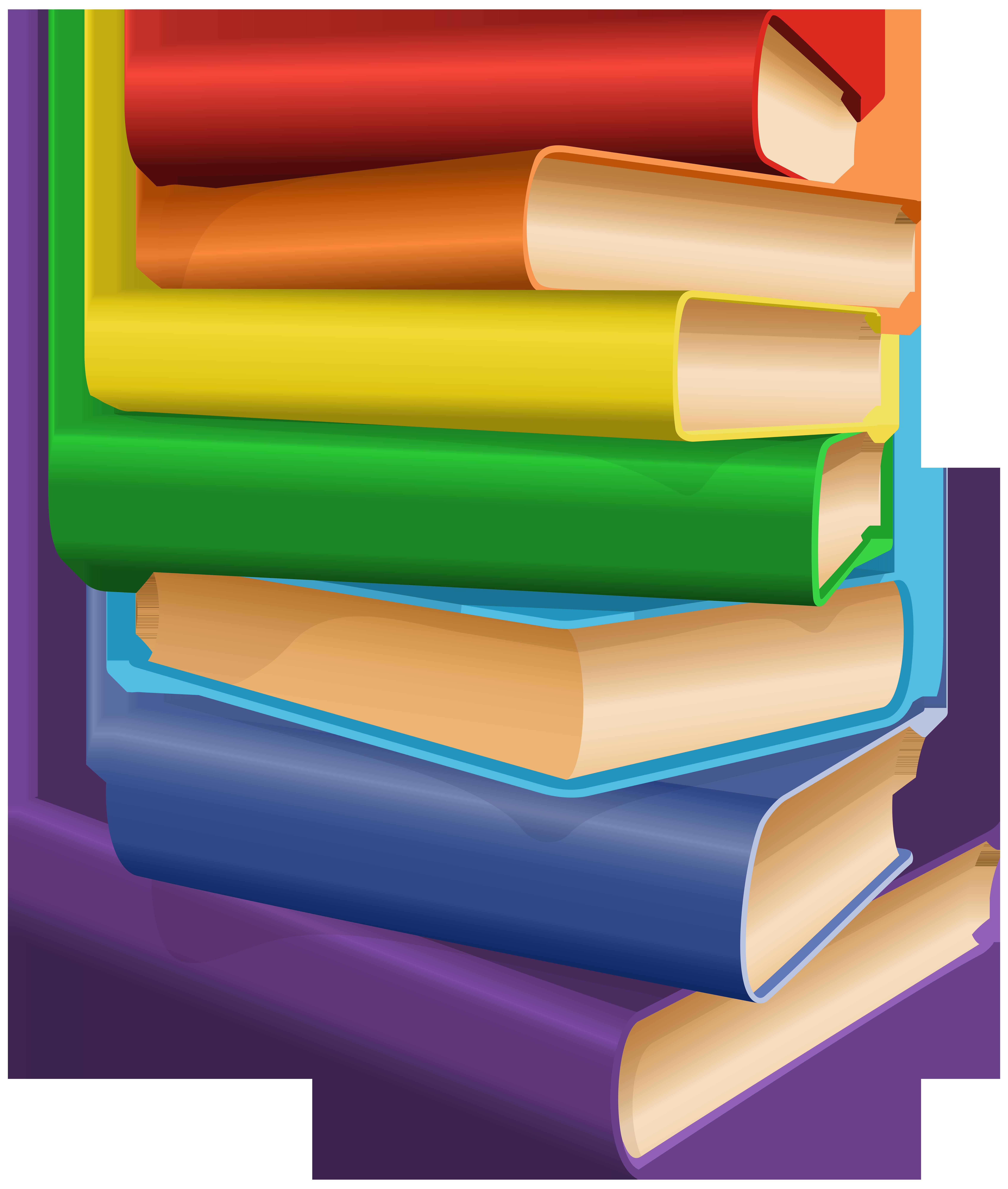 Books Clip Art PNG Image.