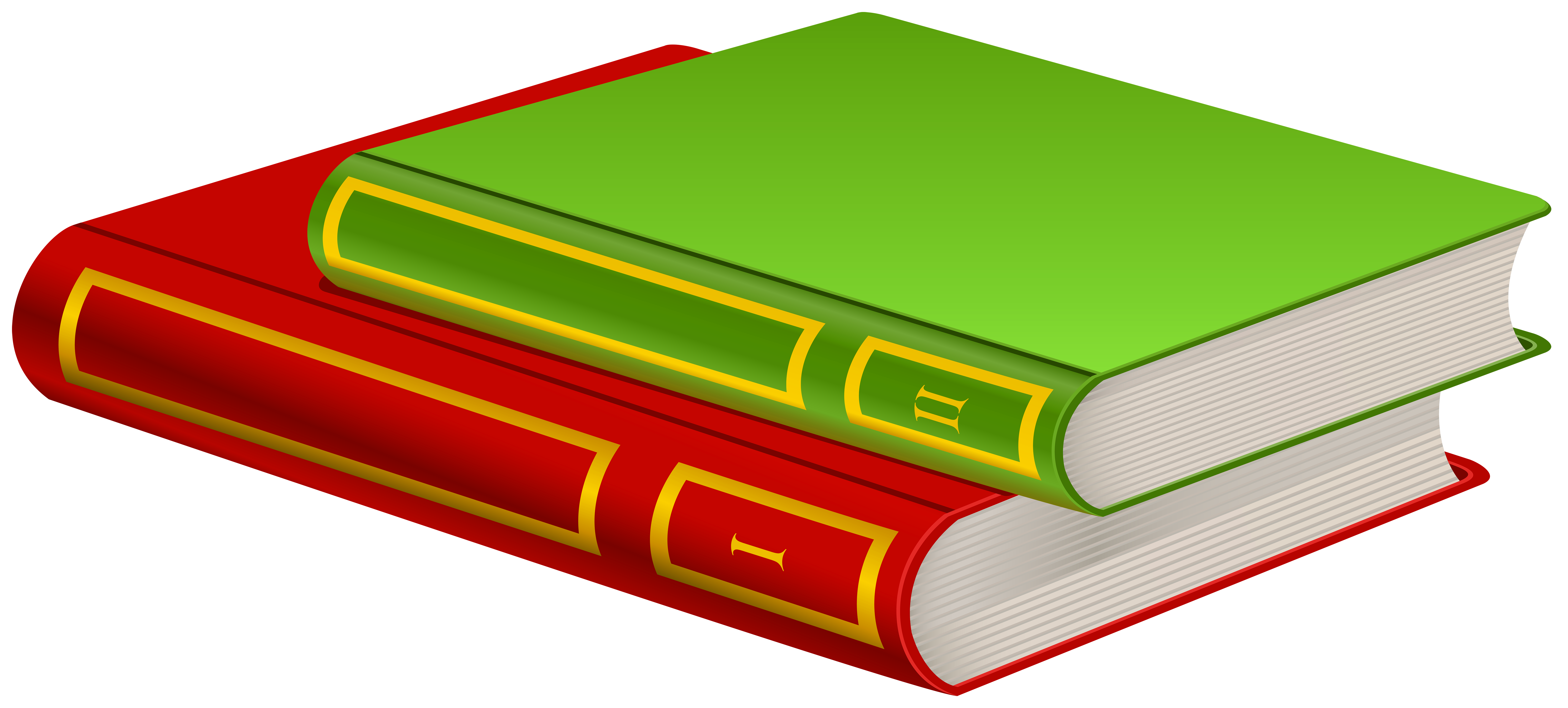 Books PNG Clip Art.