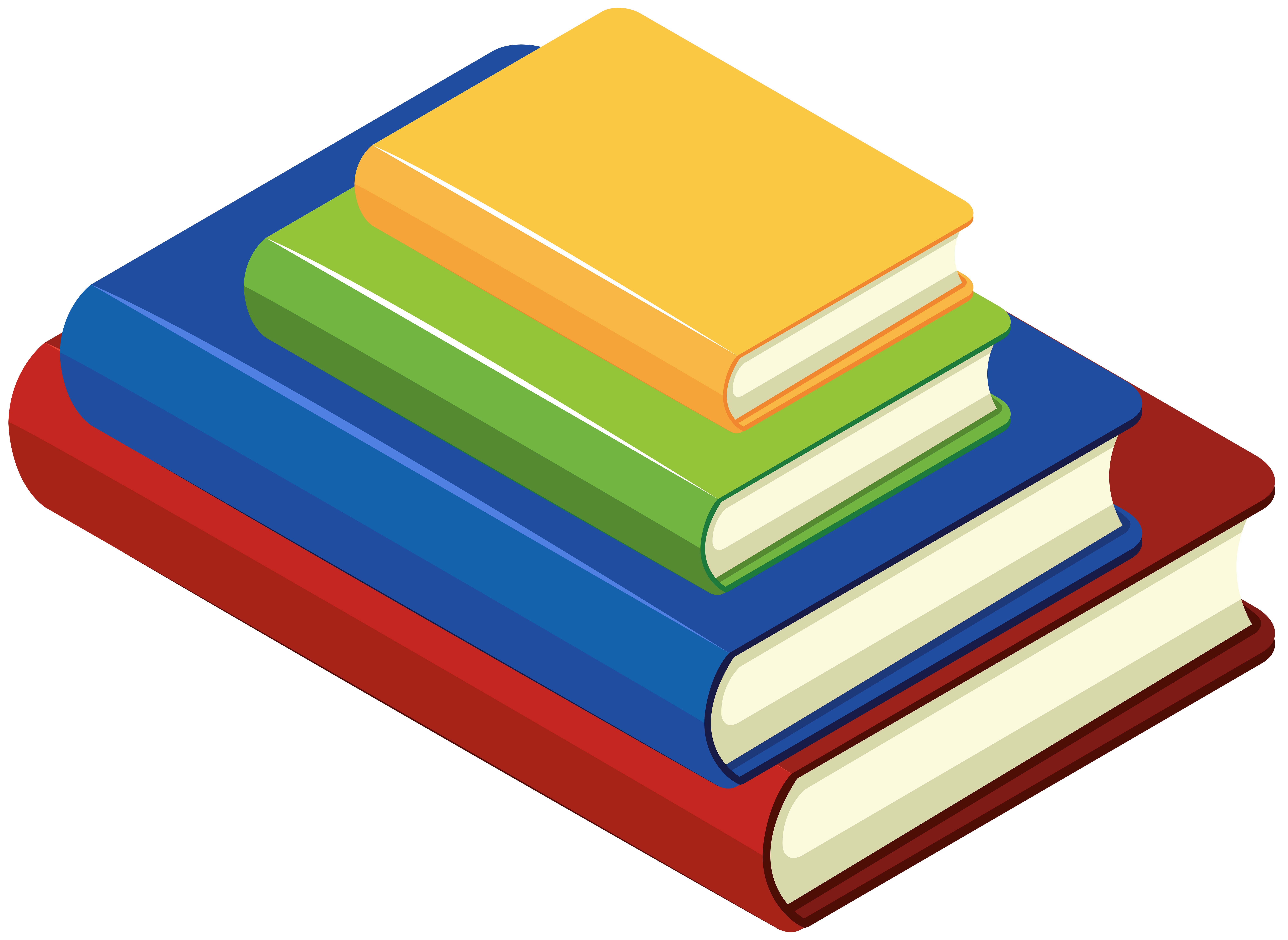 Books Transparent Image.