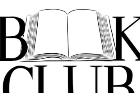 Book Club Clipart Black And White.