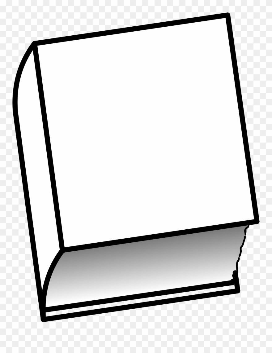 Cover Clipart Closed Book.