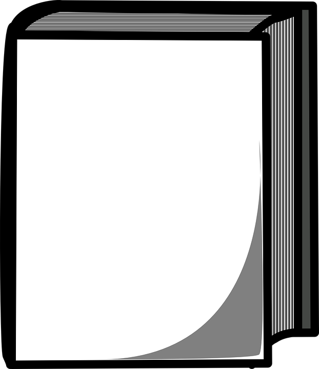 Free vector graphic: Book, Cover, Blank, Closed.