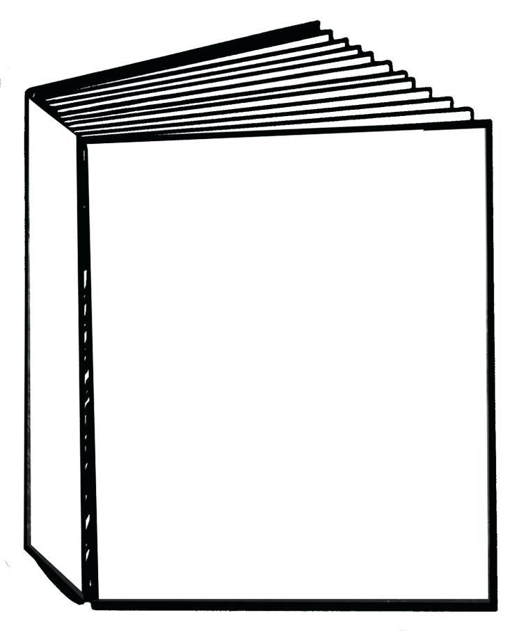 Collection of Book cover clipart.