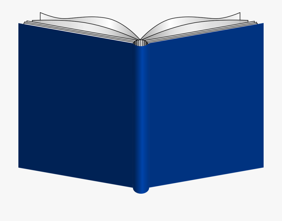 Picture Of An Open Book.