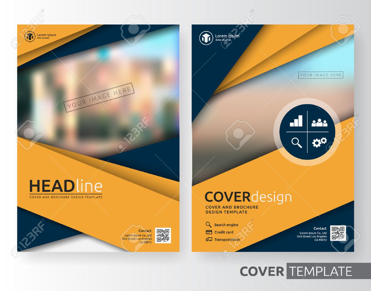Abstract cover design suitable for flyer, brochure, book cover...