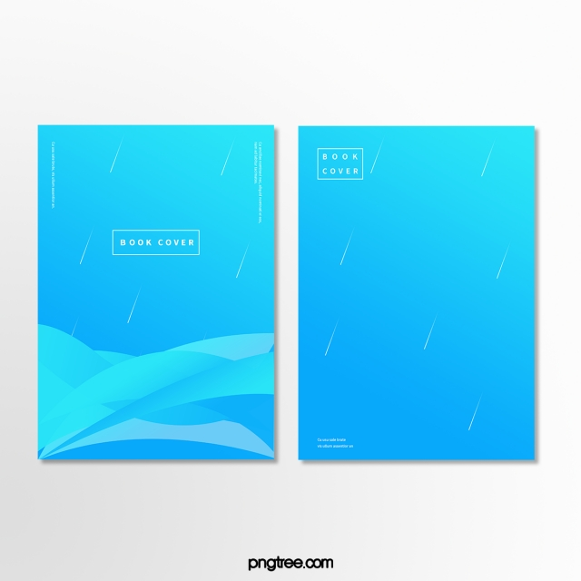 Blue Color Fluid Book Cover Design Template for Free Download on Pngtree.