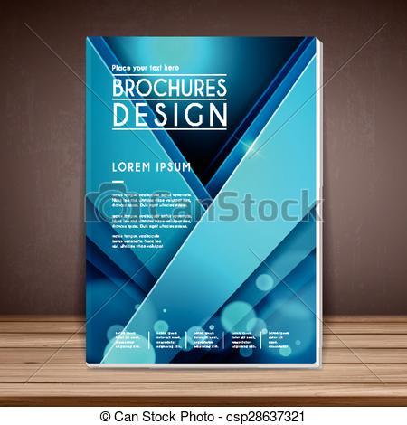 elegant book cover template design.
