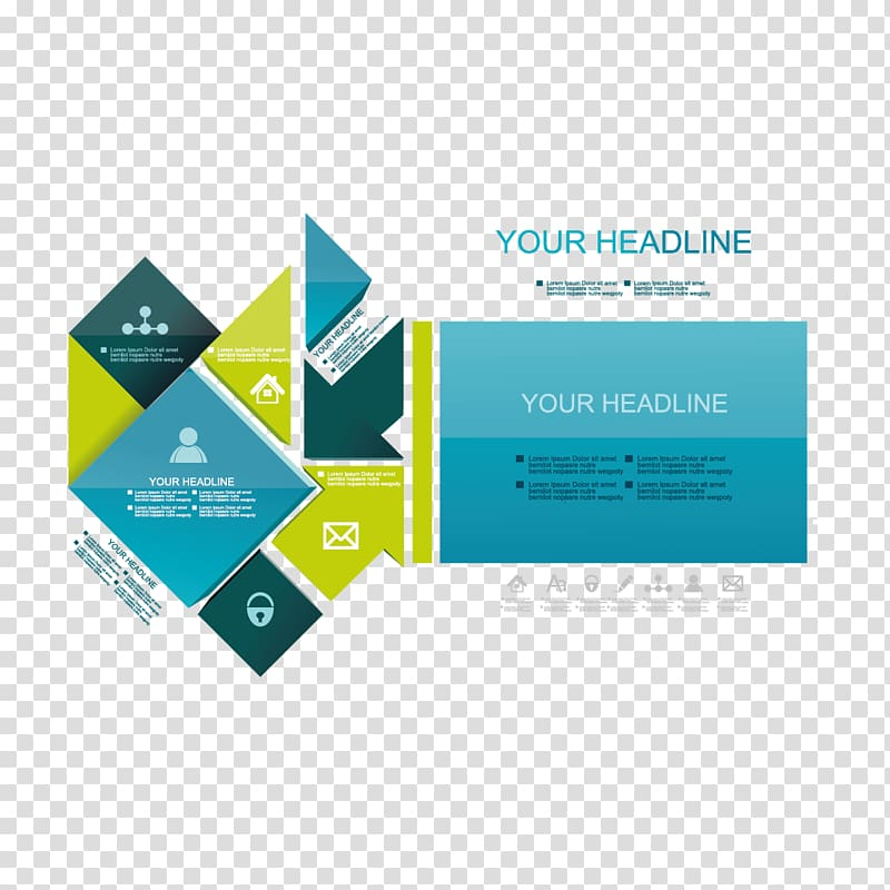 Advertisement template illustration, Page layout Book cover.