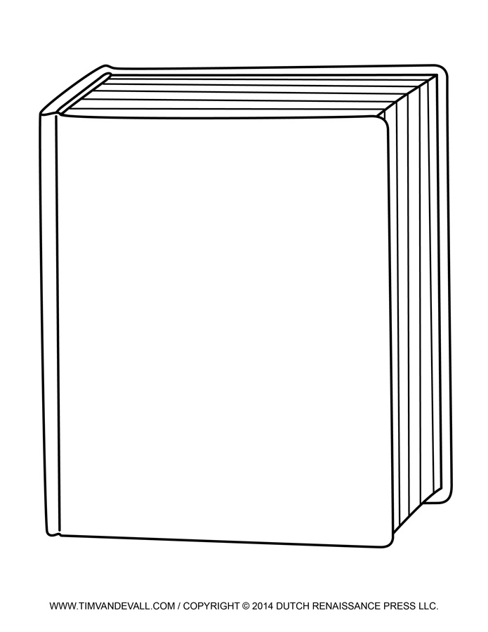 72+ Book Cover Clipart.