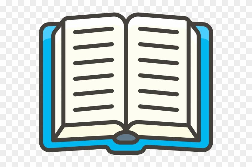 Open Book Emoji.