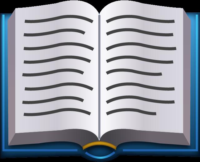 Download HD Emoji Book Png Transparent PNG Image.