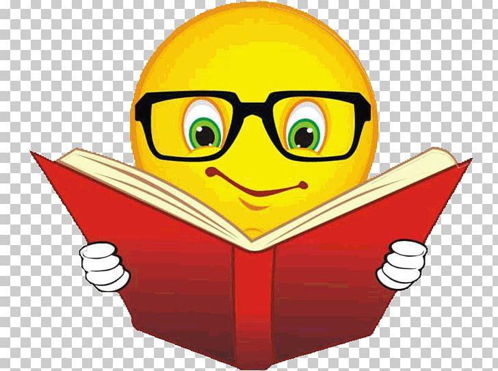Emoticon Reading Book Emoji Smiley PNG, Clipart, Book, Book.