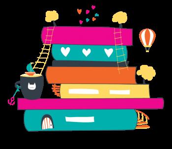 Librarian clipart book exchange, Librarian book exchange.