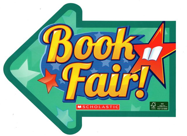 Scholastic book fair clipart.