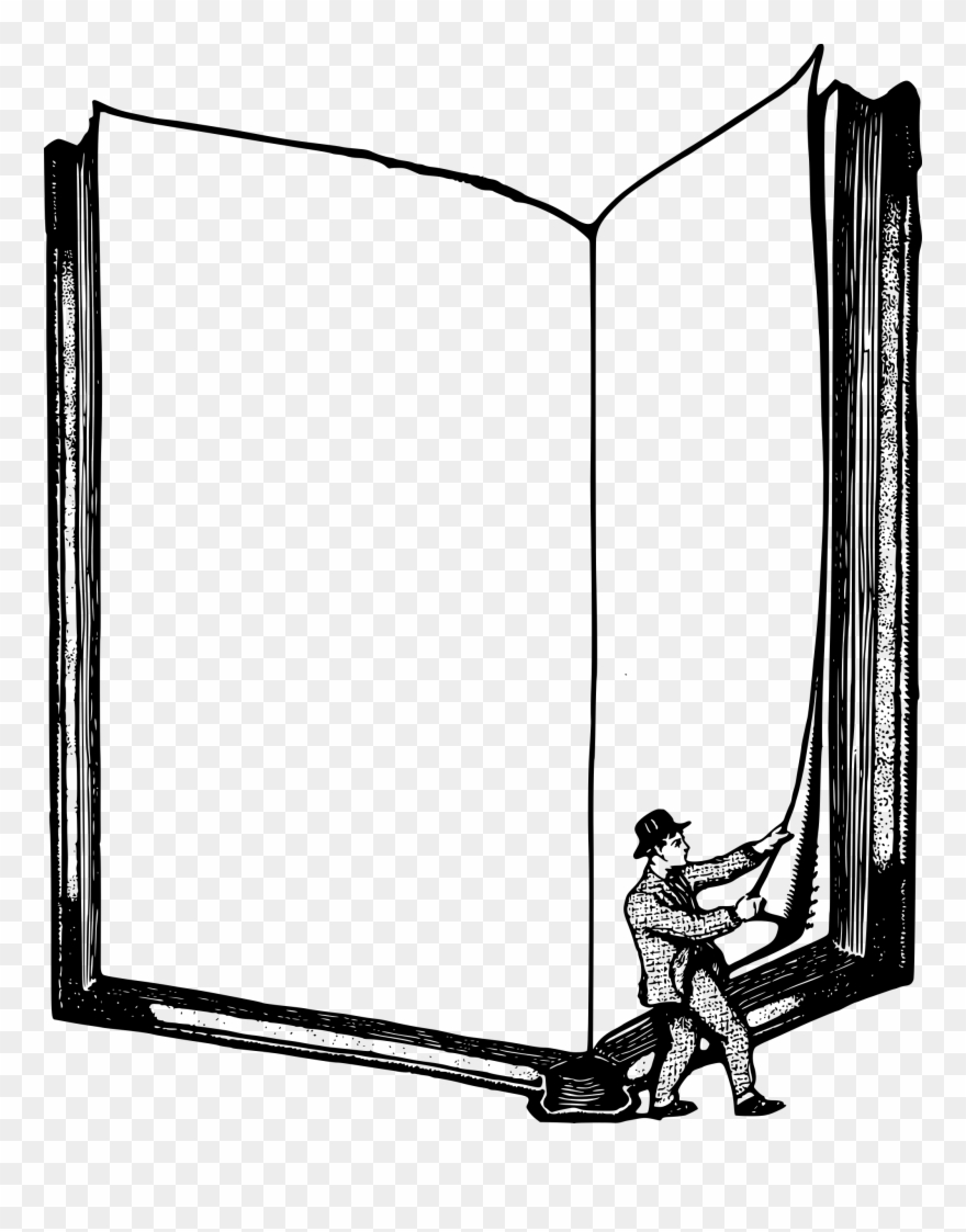 Frame Clipart Book.