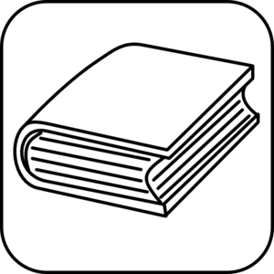 Book Icon PNG, SVG Clip art for Web.
