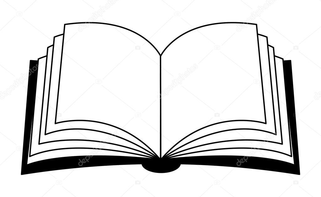 Clipart: open book clip art.