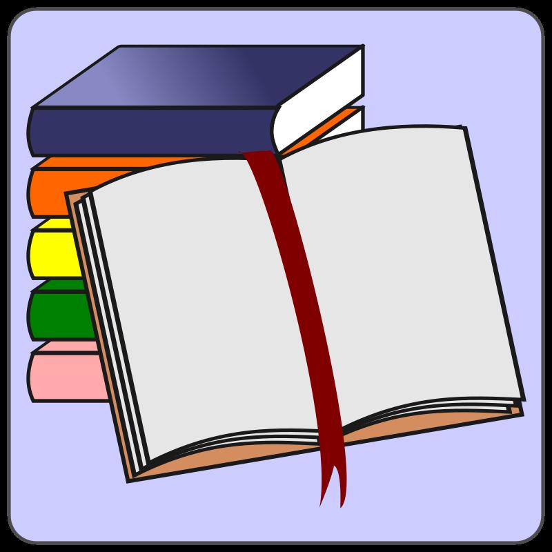 Free Clipart: Books icon.
