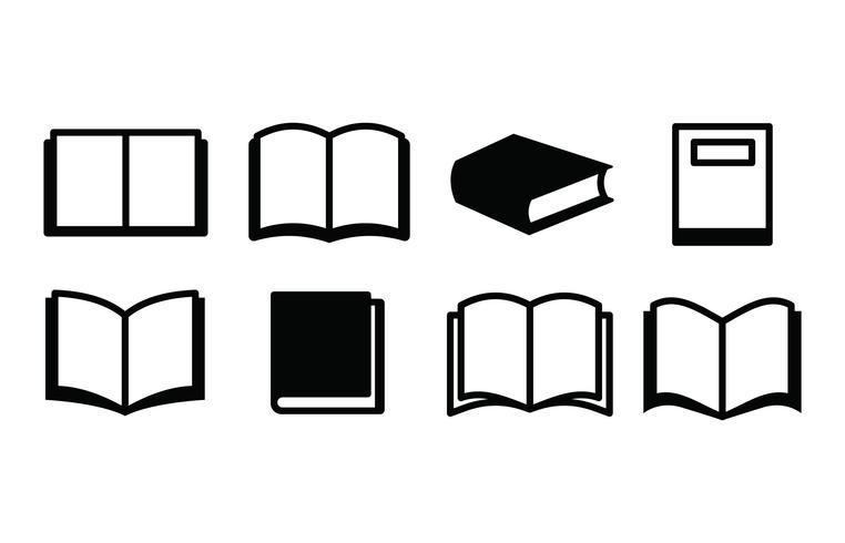 Book Icon Set.