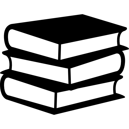 Books stack of three Free Education icons #150.