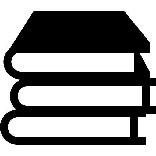Books stack Icons.
