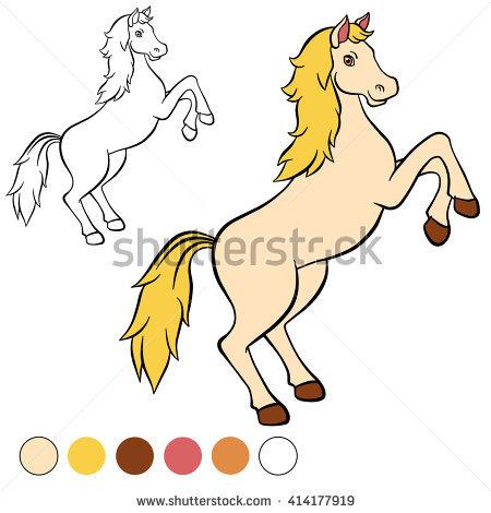 Book. Horse Stock Photos, Royalty.