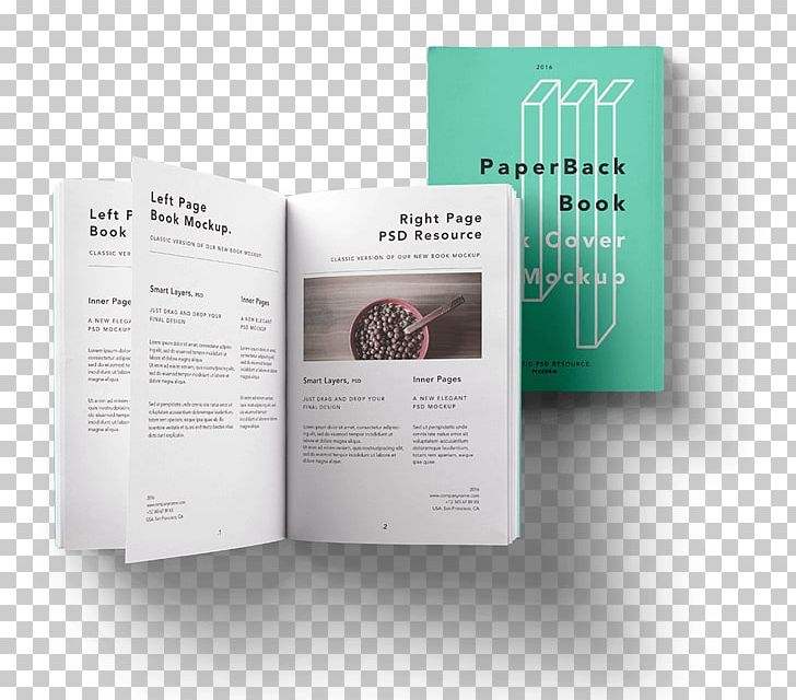 Hardcover Paperback Mockup Book PNG, Clipart, Boekbandontwerp, Book.