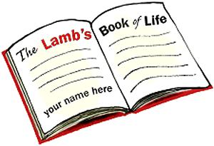 lamb's book of life.