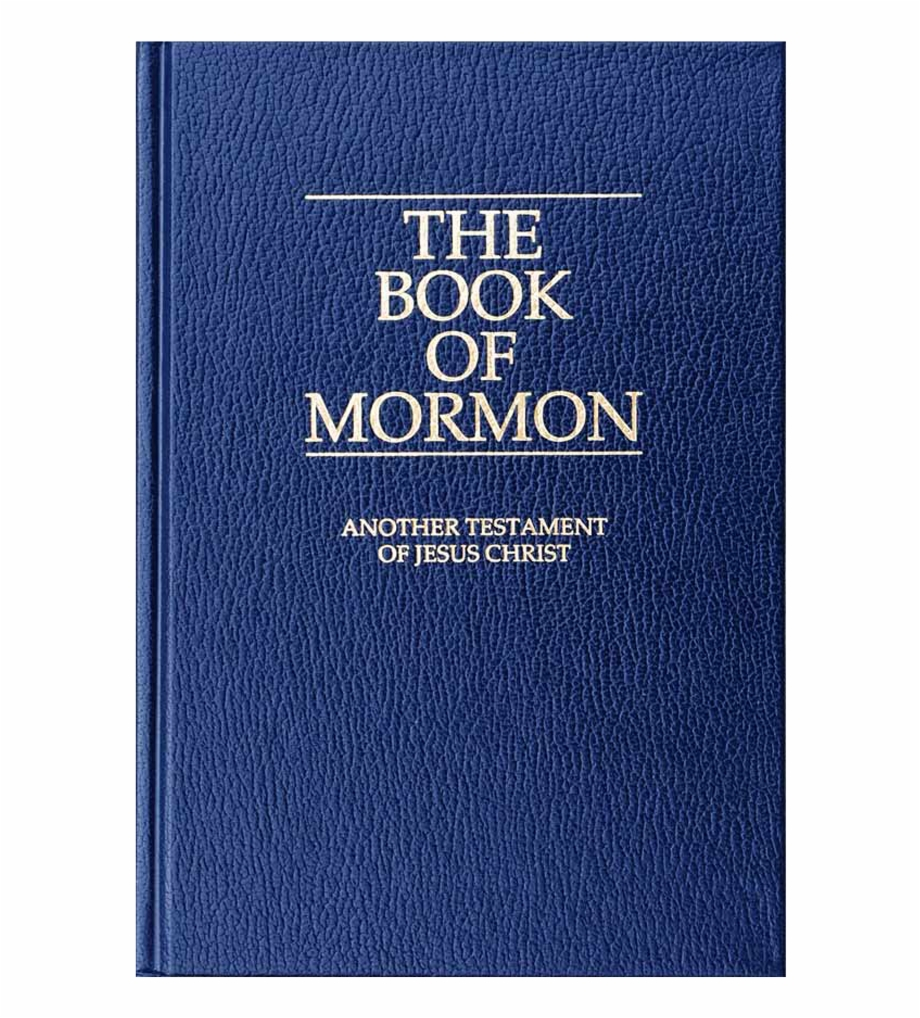 Book Of Mormon Png Transparent Background.
