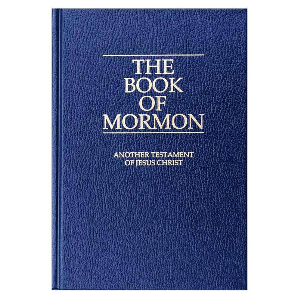 Book of Mormon: Regular, Blue.